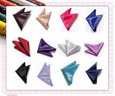 Annie haute qualité mariage/fête mouchoir/handky/poche carré 25 couleurs