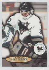 1996-97 Fleer #102 Chris Terreri San Jose Sharks Hockey Card