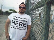 Direct to Garment Print on Demand Customized Shirts Fulfillment DTG Custom Shirt