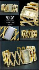 Cavadini Ladies Schmuckbanduhr,Samba CV-4713,with Simili-Steinen,Rhombus-Style