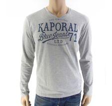 Tee shirt Kaporal homme manches longues BARTZ gris
