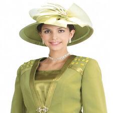 Sunday Best Women Church Suit - Soft Crepe Fabric - hat and purse- L367