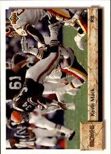 1992 Upper Deck FB Card #s 250-500 +Rookies (A2086) - You Pick - 10+ FREE SHIP