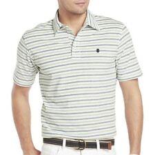 Men's IZOD Feeder-Stripe Oxford Polo Sky Blue Size M, L, XL, XXL New Msrp $45.00