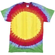 Colortone - T-shirt 100% coton à motif arc-en-ciel - Enfant unisexe (RW2632)