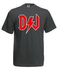 Maglia Rock DJ J572 T-shirt deejay Rock and roll star Maglietta summer party