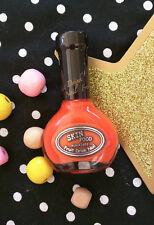 SKIN FOOD: FRUIT DRINK NAIL POLISH & NAIL VITA MANICURE Orange Rose Cappucino