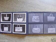 collezione catalogo foto di borse artigianali modelli anni 60 ecc