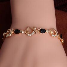 SHUANGR New 5 colors Beautiful Bracelet for Women Colorful Austrian Crystal Fash