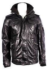 Men's NEW JAP Black Soft Napa Stylish Luxury Casual Real Leather Fashion Jacket