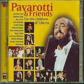 For The Children Of Liberia  by Luciano & Friends Pavarotti NEW RARE