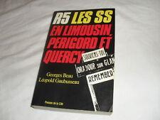 R5 les s s en limousin perigord et quercy , g beau,1984