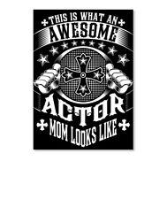 Actor Mom Funny Gift Sticker - Portrait