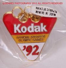 KODAK-OFFICIAL OLYMPIC SPONSOR COLLECTOR PINS/other Kodak Lab pins Free Ship