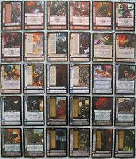 Dark Millennium Warhammer 40K CCG Hope's Twilight Rare Cards (WH40k)