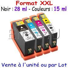 Cartouches d'encre série 150 XL pour imprimantes Lexmark gamme S et Pro