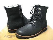 UGG Hannen Black Suede Mens Boots US13/UK12/EU47/JP30.5