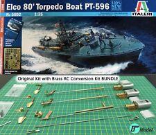 Brass RC Upgrade Kit for 1/35 Torpedo Boat PT-596