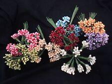 12 berry lucidi fiori fiorellini artificiali bomboniere matrimonio cerimonia