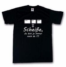 Strg Alt Entf Computer Nerd Funshirt T-Shirt schwarz 100% Baumwolle S-5XL