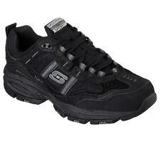 51241 EW Wide Width Black Skechers Shoes Men's Memory Foam Sport Comfort Sneaker