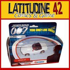 CORGI 007 JAMES BOND CAR REPLICA YOU ONLY LIVE TWICE TOYOTA GT DIE CAST