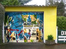 3D Affiches Lacérées 21 Garage Porte Peint en Autocollant Murale AJ WALLPAPER FR