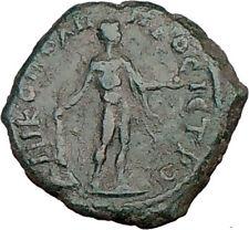 SEPTIMIUS SEVERUS 193AD HERCULES 11th LABOR HESPERIDES APPLES Roman Coin i20326