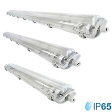 LED Feuchtraumleuchte Wannenleuchte IP65 60/120/150cm Kellerleuchte Werkstatt