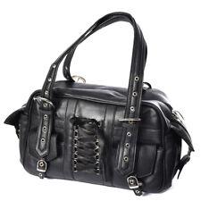Poizen Industries Becca Bag Ladies Black Goth Emo Punk Girls New Women Handbag