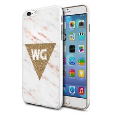 personnalisé marbre étui de téléphone pour apple Samsung Initiale Texte Nom - 74