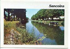 CP 18 CHER - Sancoins - Le Canal