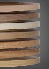 Real Wood Veneer Pre Glued Iron on Edging Tape 50 metre rolls/coils