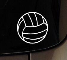 "I Love Play Volleyball Decal Vinyl Sticker Car Window 5"" Sport Macbook etc"