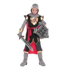 Kids Boys Brave Crusader Medieval Knight Fancy Dress Carnival Book Week Costume