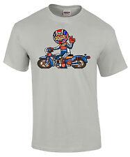 Honda Cub Repsol Racing C90/C70/C50 Style  Motorcycle Printed T Shirt in 6 Sizes