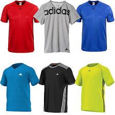 adidas Performance Herren-Laufshirt Trainingsshirt Sportshirt Funktionsshirt NEU