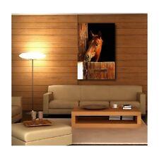 Quadro tela decocrazione rettangolare verticale cavallo box 2852890