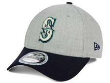 d7044878f73 Seattle Mariners New Era MLB Heather Hit 940 Baseball Cap Hat Snapback Gray  Navy