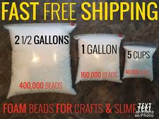 Styrofoam Foam Balls for Slime Polystyrene DIY Gift Styrofoam Beads