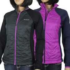 """New Womens Columbia """"Key Seeker"""" Water Resistant Hybrid Jacket Coat"""