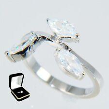 2.25Ctw Marquise Cut Stones Wedding Bridal Anniversary Ring # 5,6,7,8,9 /w Box