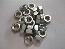 M4 Full Hex Nut Steel Bright Zinc Plated, Qty 50 / 100 off, Free P&P