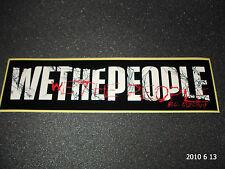 1 Authentic Wethepeople biciclette BMX Nero/Bianco adesivo/Adesivo Aufkleber #19