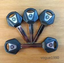 Silvery Blank Key Uncut For Yamaha YZF R1 R6 FZ1 FZ6 XV250 MT01/03 Right Slot