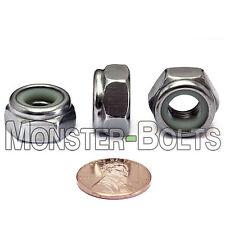 Stainless Steel Nylon Insert Hex Lock Nut - M2.5 M3 M4 M5 M6 M8 M10 M12 DIN 985