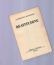 beatitudine -  katherine mansfield  - serie bur rizzoli