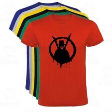 Camiseta V Vendetta Figura en Logo Anonymous hombre tallas y colores