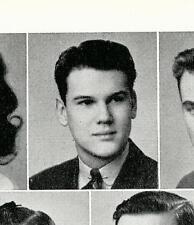"DR. SAM SHEPPARD  High School Yearbook  SENIOR Year  ""The Fugitive"""