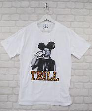 Fait A$ AP ASAP ROCKY Trill Mickey suprême Hommes Crew Tee T-shirt rappeur